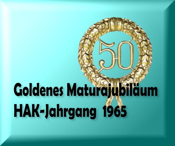 Logo 50 Jahre HAK 65