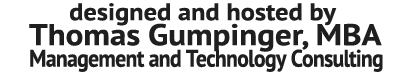 Thomas Gumpinger, MBA
